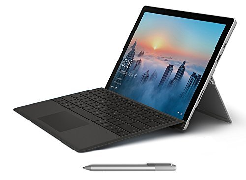 Microsoft Surface Pro 4 256GB i5 Windows 10 Anniversary with Black Type Cover Bundle (8GB RAM, 2.4GHz i5, 12.3 Inch Touchscreen (Anniversary Bundle)