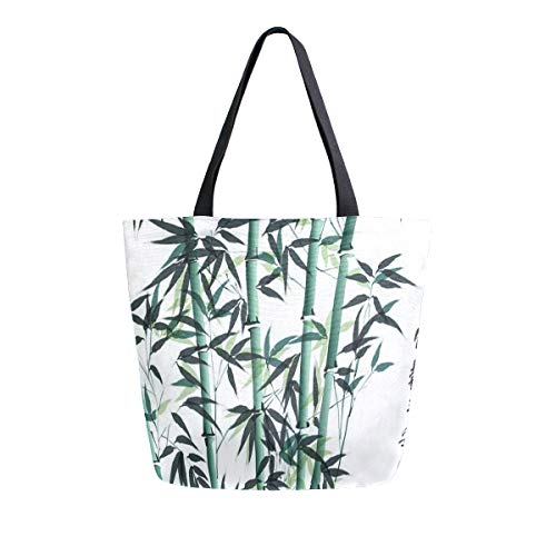 Canvas Tote Bag Bamboo Ink...