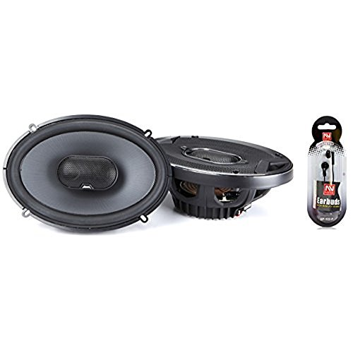 JBL GTO939 GTO Series 6x9 300W 3 Way Black Car Coaxial Audio Speakers - Audio Car Jbl