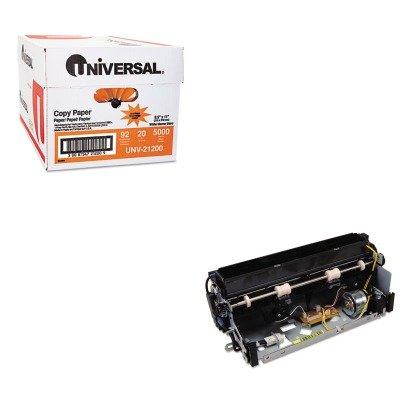 KITLEX40X2592UNV21200 - Value Kit - Lexmark 40X2592 110-127V Fuser (LEX40X2592) and Universal Copy Paper (UNV21200)