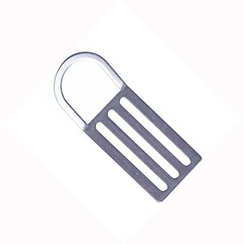 Dive Rite Offset D-Ring Stainless Steel Weight Belt Keeper Slider ()