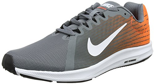 Nike Herren Downshifter 8 Laufschuhe Grau (Cool Grey/white-hyper Crimson-dark Grey 003)
