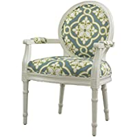 Powell Furniture and Teal Ghost Chair, White