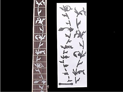 lay Sticker Decal for Guitar & Bass ,White Pearl The Tree ()