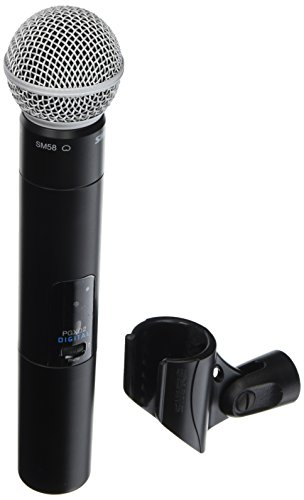 - Shure PGXD2/SM58=-X8 Digital Handheld Wireless Transmitter with SM58 Microphone