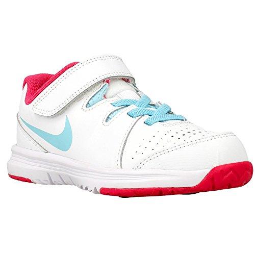 Nike - Vapor Court Psv - Couleur: Blanc-Bleu - Pointure: 29.5