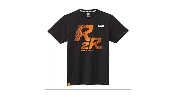 Original KTM Ready to Race té - Camiseta para hombre (Talla L), color negro: Amazon.es: Coche y moto