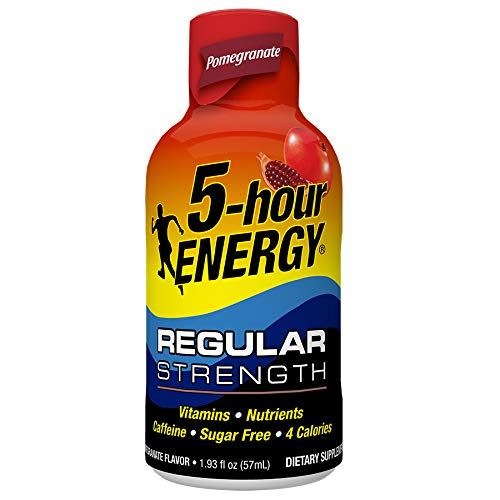 Regular Strength 5-hour ENERGY Shots - Pomegranate - 24 Count