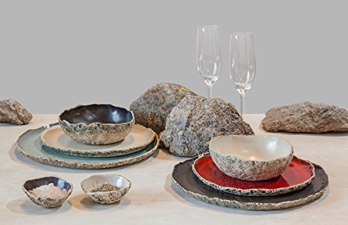 Large ceramic dinner set ,Wedding Dinnerware Registry, Handmade organic dinnerware setting,Stoneware dinner setting, Birthday gift