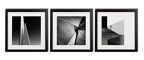 Black And White Wall Art Decor Posters For Living Room Modern Architecture Canvas Giclee