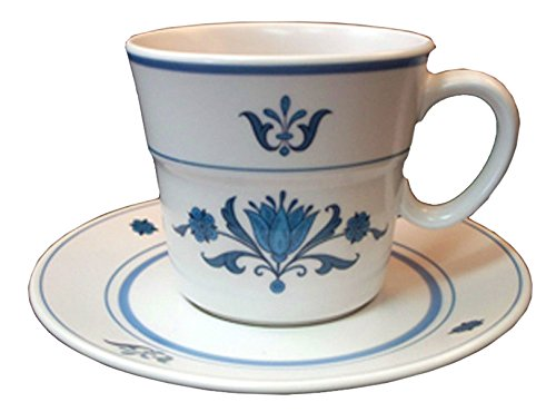 - Noritake - Blue Haven 9004 - Progression - Cup & Saucer