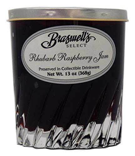 Braswell's Select Rhubarb Raspberry Jam in Collectible Drinkware - 13 - Rhubarb Jam Raspberry
