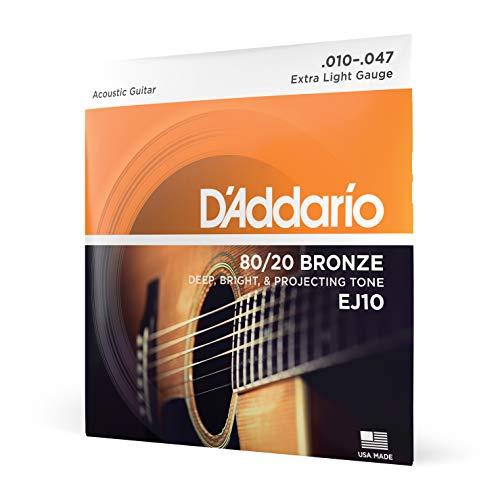 D'Addario Ej10 Bronze Acoustic