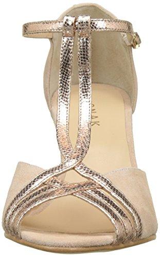 Rosa tacón para JONAK Zapatos Dian de Cuivre Mujer 001 Punta Rose Abierta con xn1pOn