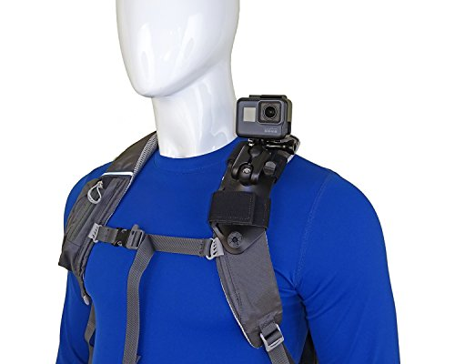 STUNTMAN Pack Mount - Shoulder Strap Mount for Action Cameras