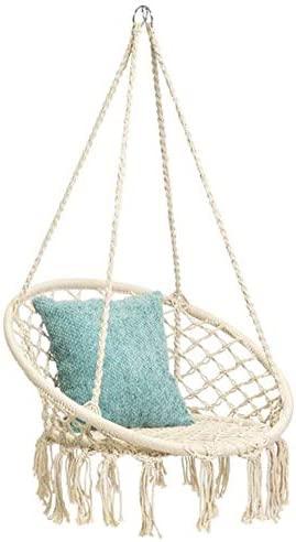 Hammock Handmade Knitted Macrame Capacity