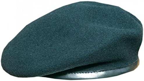 Rifle Green Rifle Green Officers Small Crown Beret 60 cm