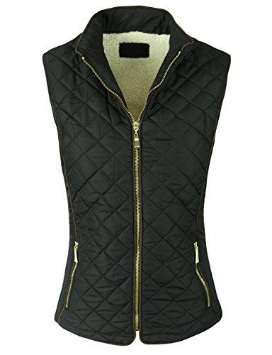 Quilted Vest Jacket - 1