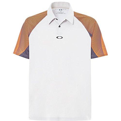 Oakley Aero Motion Sleeve Polo, Light Grey, ()