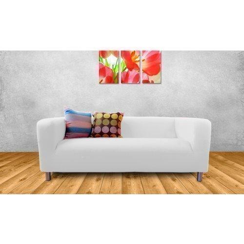 Shopisfy Replacement Cover For Ikea Klippan Sofa 2 Seater   White:  Amazon.co.uk: Kitchen U0026 Home