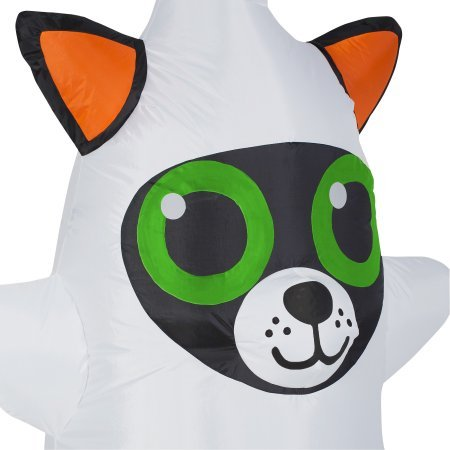 Airblown Inflatable Cute Halloween Decor 3.5 ft Tall by Gemmy Industries (Cute Cat Dressed as Ghost) by Gemmy