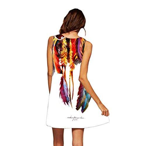 Robe de Jupe Robe Jupon de Line 5 Fille Soire A Mini sans Robe Plage Tunique YICHUN Crayon Manche Femme Courte de qwzf1fOt