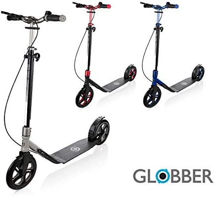 Amazon.com: Globber adulto un segundo patinete plegable de ...