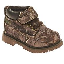 Realtree Garanimals Toddler Boys Green Camo Work & Hiking Boots