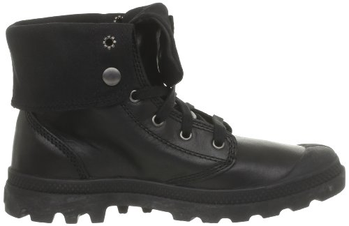 Palladium Baggy Leather H - Botas de cuero Hombre negro - negro