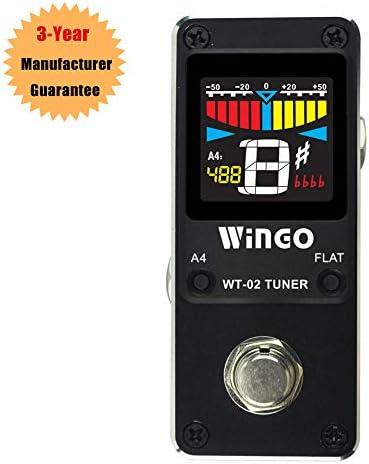 WINGO Pedal Tuner Guitar Strings