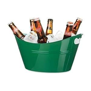 Cubitera Para Hielo Plástico - 11 Litros - Champán, Vino y Cerveza Para Bares y Restaurantes