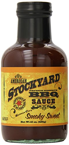 American Stockyard Smoky Sweet Kansas BBQ Sauce, 15 Ounce