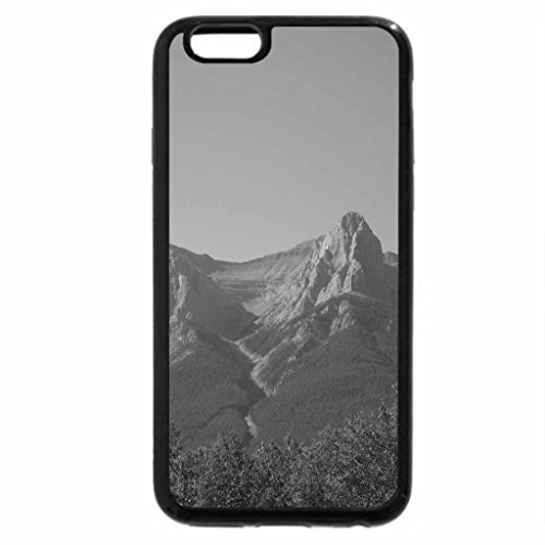 iPhone 6S Case, iPhone 6 Case (Black & White) - Mountains view 16