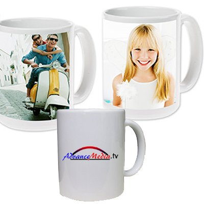Marvelous Printing Personalized Mug (15oz) - Use a photo or logo image to create a unique Custom (Lots Photo Mug)