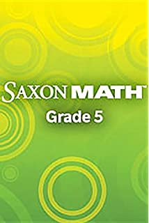 Amazon saxon math intermediate 5 teachers manual volume 1 saxon math intermediate 5 2 volumes teachers edition fandeluxe Images