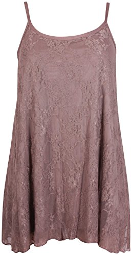 Purple Hanger - Camiseta sin mangas - para mujer Moca