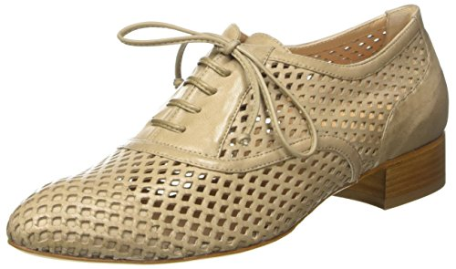 Lorenzo Masiero S171B046, Zapatos de cordones Mujer Beige (Tortora)