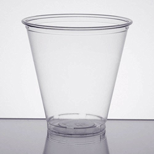 Dart 5C 5 oz Ultra Clear PET Plastic Cup (Case of 2500) by DART (Image #1)