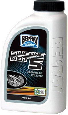 Bel-Ray Silicone DOT 5 Brake Fluid - 12oz. 99450-B355W (1) (Best Motorcycle Brake Fluid)