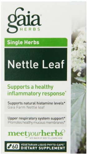 Gaia Herbs Nettle Leaf Liquid Phyto-Capsules, 60 Count
