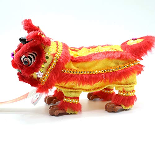 AQUEENLY Lion Marionette Chinese Dragon Marionette Puppet Chinese New Year Lion Dance (Best Chinese Lion Dance)