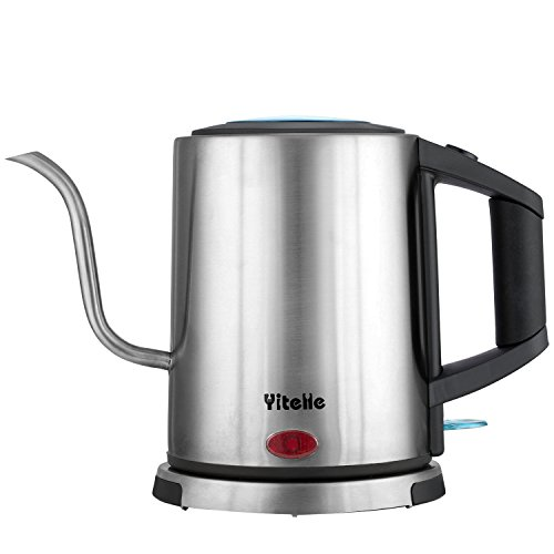 Electric Gooseneck Kettle, Great for Pour Over Coffee and Te
