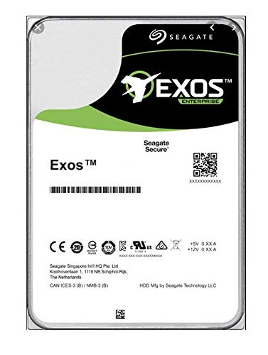 "16TB Seagate ST16000NM001G Exos X16, 3.5"" Enterprise HDD, SATA 3.0 (6GB/S), 7200RPM, 256MB Cache, 4.16ms, OEM"