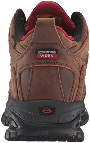 Skechers f�r Work Men's Soft Stride Gilbe Schuh, Brown