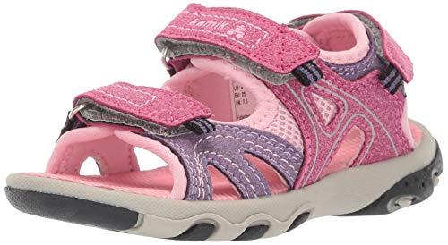 Kamik Girls' Cape Sandal Pink 10 M US Toddler
