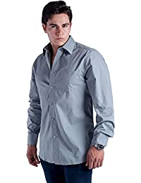 Men's Button Down Long Sleeve Dress Shirt