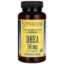 Swanson Dhea 50 mg 120 Caps