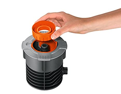 Gardena sistema de rociadores - caja de conexiones: inicio del sistema de tubería y sistema de rociadores, con conexión de rosca macho de 3/4