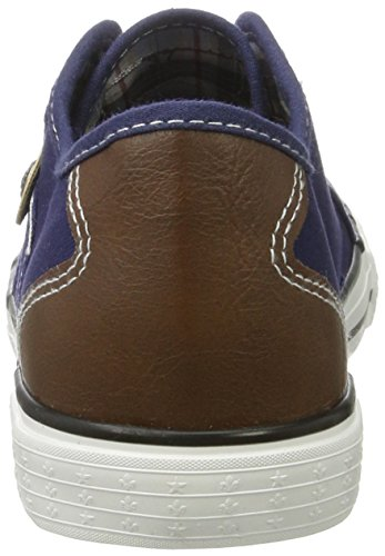 Rieker Women's M2212 Low-Top Sneakers Blue (Lake/Brown / 14) fake cheap price cheap sale countdown package discount outlet locations free shipping marketable wholesale price for sale PfZHXkg