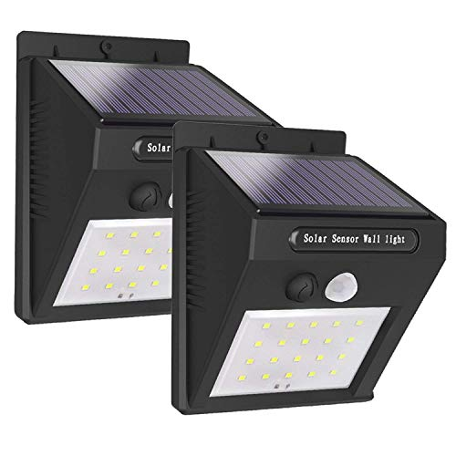 Solar Lights Outdoor, Wireless 20 LED Motion Sensor Solar Lights Waterproof Security Lights Easy Install Solar Lights Outdoor Motion Sensor Lights Outdoor Lights for Yard,Patio,Garden,Fence,Driveway For Sale